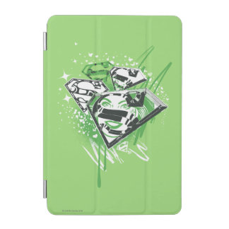 Supergirl Green Spills iPad Mini Cover