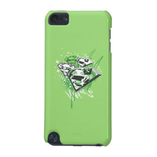 Supergirl Green Spills iPod Touch (5th Generation) Covers