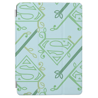Supergirl Green Vine Logo Pattern iPad Air Cover