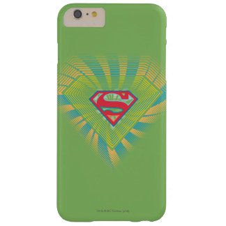 Supergirl Groovy Logo 2 Barely There iPhone 6 Plus Case
