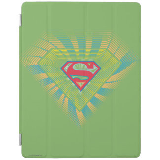 Supergirl Groovy Logo 2 iPad Cover