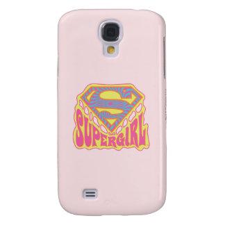 Supergirl Groovy Logo Galaxy S4 Case
