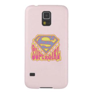 Supergirl Groovy Logo Galaxy S5 Case