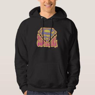 Supergirl Groovy Logo Hoodie