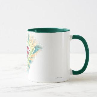 Supergirl Groovy Logo Mug