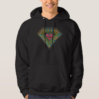Supergirl Groovy Logo Sweatshirts