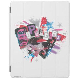 Supergirl Grunge Design iPad Cover