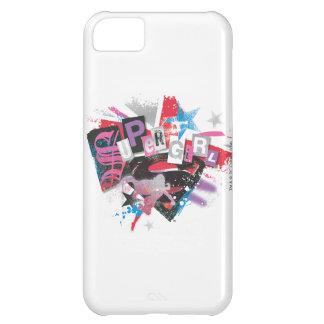 Supergirl Grunge Design iPhone 5C Case