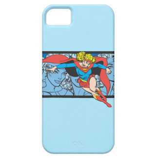 Supergirl Head Shots Barely There iPhone 5 Case