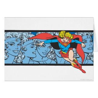 Supergirl Head Shots Card