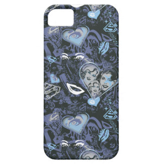 Supergirl Hearts and Lips Pattern Case For The iPhone 5