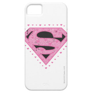 Supergirl Hearts Barely There iPhone 5 Case