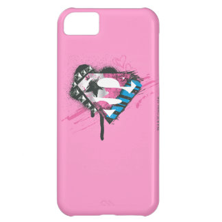 Supergirl Hearts Logo iPhone 5C Case