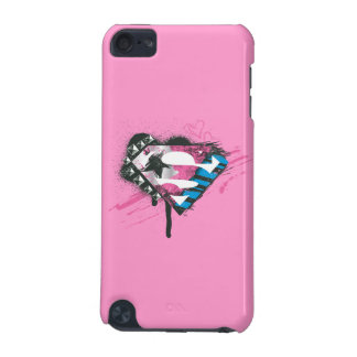 Supergirl Hearts Logo iPod Touch 5G Cover