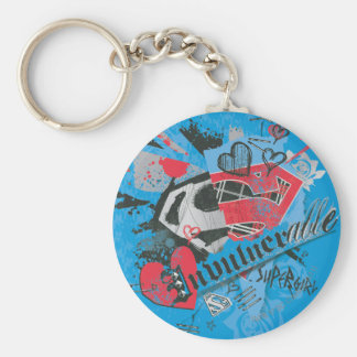 Supergirl Invulnerable Key Ring