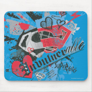 Supergirl Invulnerable Mouse Mat