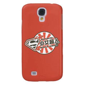 Supergirl J-Pop 13 Galaxy S4 Case