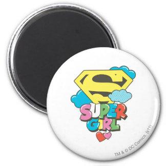 Supergirl J-Pop 5 Magnet