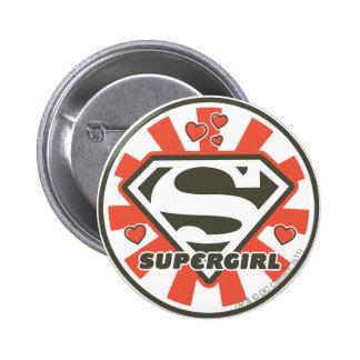 Supergirl J-Pop 7 6 Cm Round Badge