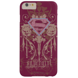 Supergirl Jewel Logo Barely There iPhone 6 Plus Case