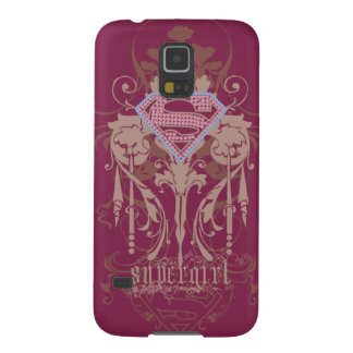 Supergirl Jewel Logo Case For Galaxy S5