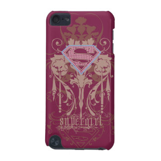 Supergirl Jewel Logo iPod Touch 5G Case