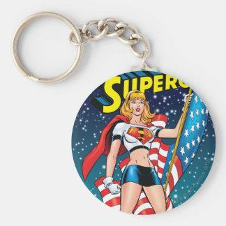 Supergirl Key Ring