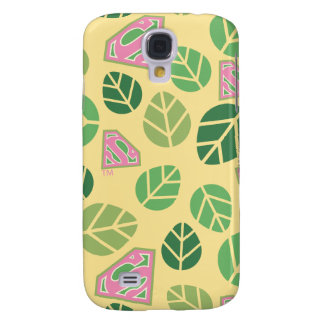 Supergirl Leaf Pattern Galaxy S4 Case