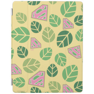 Supergirl Leaf Pattern iPad Cover