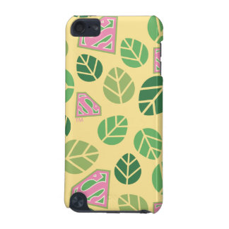 Supergirl Leaf Pattern iPod Touch (5th Generation) Covers