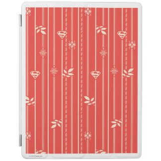 Supergirl Leaf Pattern Red iPad Cover