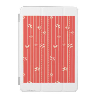 Supergirl Leaf Pattern Red iPad Mini Cover