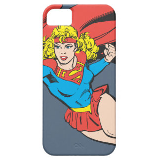 Supergirl Leaps and Punches Barely There iPhone 5 Case