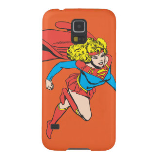Supergirl Leaps Right Galaxy S5 Cover