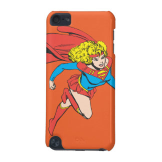 Supergirl Leaps Right iPod Touch (5th Generation) Cases