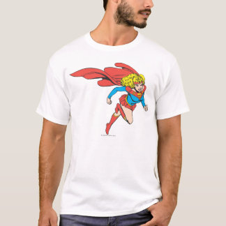 Supergirl Leaps Right T-Shirt