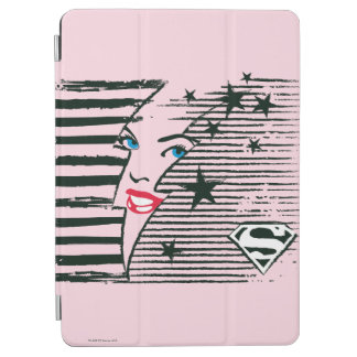 Supergirl Lightning With Face iPad Air Cover