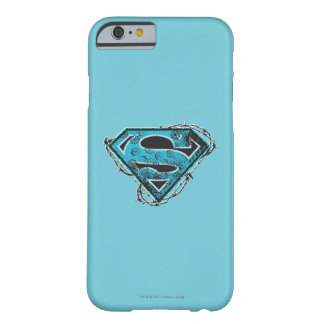 Supergirl Logo Barbed Wire and Flowers Barely There iPhone 6 Case
