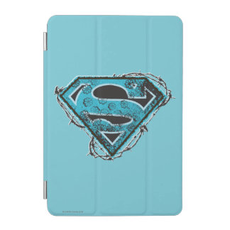 Supergirl Logo Barbed Wire and Flowers iPad Mini Cover