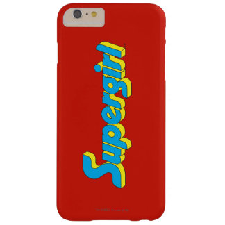 Supergirl Logo Barely There iPhone 6 Plus Case