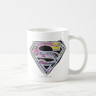 Supergirl Logo Collage Coffee Mug