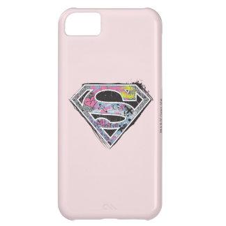 Supergirl Logo Collage iPhone 5C Case