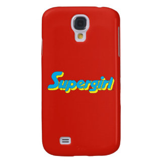 Supergirl Logo Galaxy S4 Case
