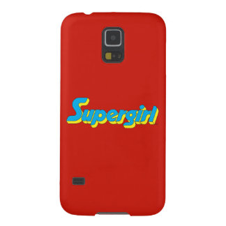 Supergirl Logo Galaxy S5 Cover
