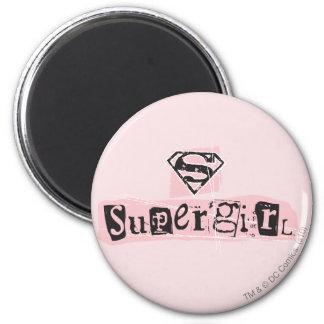 Supergirl Logo Ransom Note Magnet