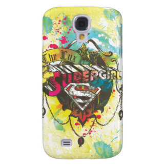 Supergirl Logo The Lux Galaxy S4 Case