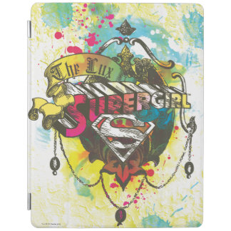 Supergirl Logo The Lux iPad Cover