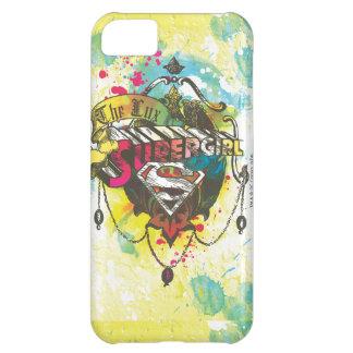Supergirl Logo The Lux iPhone 5C Case
