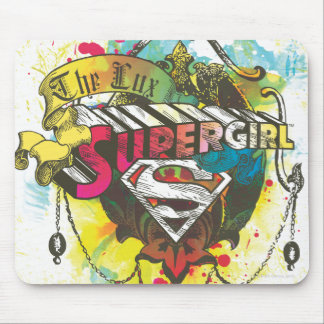 Supergirl Logo The Lux Mouse Mat