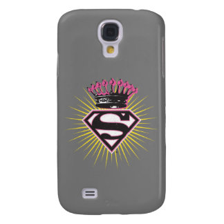 Supergirl Logo with Crown Galaxy S4 Case